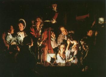 Joseph Wright Of Derby : Experiment with the Air Pump